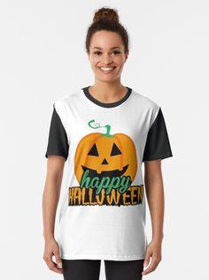 """HAPPY HALLOWEEN SHIRT"" T-shirt by ybouaabad | Redbubble Halloween Shirt, Happy Halloween, Mens Tops, T Shirt, Stuff To Buy, Women, Fashion, Supreme T Shirt, Moda"