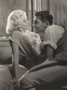 Harlow and Gable...