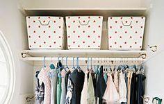 Inspirational Home Design -- 20 Ways to Organize Your Bedroom Closet