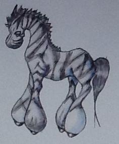 Zebra anime