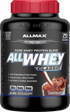 """""""AllMax Nutrition AllWhey Classic Pure Whey-Protein 5 Lbs. Cookies and Cream"""""""