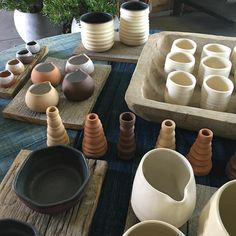 I am so proud of all of the incredible ceramic artists we have in the shop right now .. Camelback Flowershop