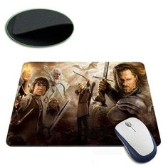 The Lord of The Rings Mouse Pad  //Price: $9.00 & FREE Shipping //     #BilboBaggins #lordoftherings #LOTR #thehobbit #hobbit #ExtendedEdition #Tolkien #Sauron #Smeagle #Frodo #myprecious #erebor # gandalfthegrey #filixkili #thehobbitanunexpectedjourney #radagastthebrown #theonering