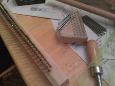 Moonsong Fiberworks - Fiber tools and more!: How to make a wool comb and hackle set