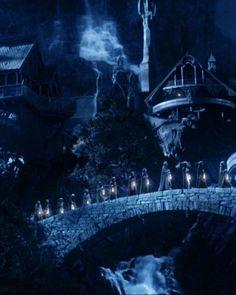 Elves Leaving Rivendell