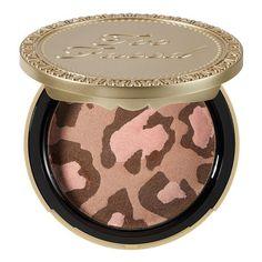 Pink Leopard Bronzer - Poudre Bronzante de Too Faced sur sephora.fr : Toutes les plus grandes marques de Parfums, Maquillage, Soins visage et corps sont sur Sephora.fr