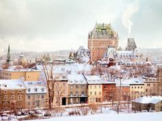 Quebec City is one of the oldest in North America, and its colonial French architecture gives it an unmistakably European feel. The cobbled streets of the Old Town are packed with quaint shops and delicious bistros all merrily decorated for the holidays.Get a holiday rush: The toboggan run at Chateau Frontenac is one of the city's oldest traditions—and quite the thrill. Zoom down icy tracks overlooking the city on a wooden sled reaching speeds of up to 45 mph.
