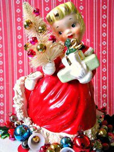 Napco Christmas Girl