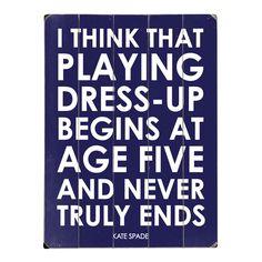 playing dress up~