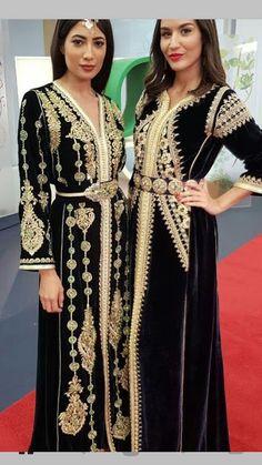 Morrocan Kaftan, Moroccan Dress, Style Oriental, Oriental Fashion, Arabic Dress, Beautiful Muslim Women, Hijab Style, Elegant Saree, Fashion Colours