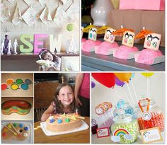 36 Girl Party Themes, Cake, and Games