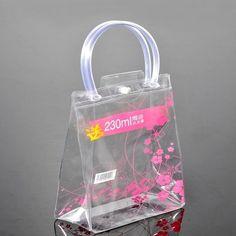 Travel bag transparent pvc bag