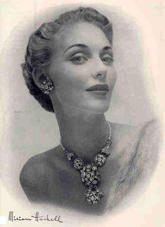 Miriam Haskell - Publicité Vintage - 1949