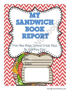 My Sandwich Book Report from Blue Ridge Second Grade Days on TeachersNotebook.com (28 pages)  - Need a fun way for students to do a book report reviewing story elements (title, author, characters, setting, problem, plot, solution, and conclusion), analyzing a story (story elements and favorite part of story), and connections (what this story reminds
