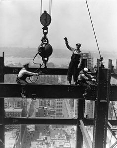 Construção Empire State Building