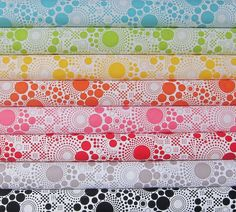 Hipster Collection - Pop Fat Quarter Bundle - Riley Blake - 8 Fat Quarters - 2 Yards Total
