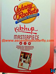 Johnny Rockets Ketchup Masterpiece - Photo Highlights from the Blogger Bash Sweet Suite 2014 NYC Blogging Conference - http://www.ascendingbutterfly.com/2014/08/to-bloggerbashnyc-with-love.html