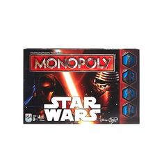 Star Wars: Episode VII The Force Awakens Monopoly Game by Hasbro Star Wars Hasbro, Star Wars Toys, Star Wars Episoden, Star Wars Games, Monopoly Board, Monopoly Game, Jouet Star Wars, Game Of Thrones, The Game Is Over