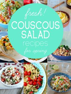 9 Fresh and Healthy Couscous Salads