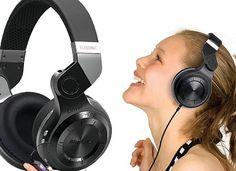 Bluedio T2 Headphone black Turbine Hurricane