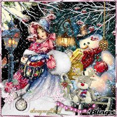 It's So Beautiful Snow/ glittery animation  click  http://bln.gs/b/27m853