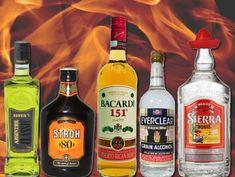 Sólo para valientes: las 6 bebidas más alcohólicas del mundo