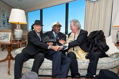 Here's one from around this time last year...Shot by Rick Friedman at the PEN New England Song Lyrics of Literary Excellence Awards, where Chuck and Leonard were recognized... — with Leonard Cohen and Chuck Berry at JFK Presidential Library and Museum.