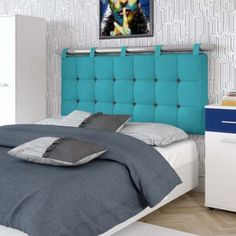 36 Stylish Diy Bedroom Headboard Design Ideas That Will Inspire You Master Bedroom Closet, Home Bedroom, Bedroom Furniture, Home Furniture, Furniture Design, Bedroom Decor, Bed Headboard Design, Headboards For Beds, Headboard Ideas
