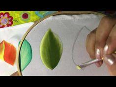 6 - Pintura en tela hoja con cony