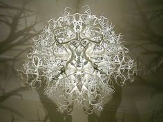 Light Sculpture Lamp