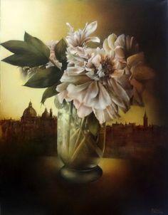 Parfum de Venise 2, Dedicato a Venezia Glass Vase, Painting, Decor, Art, Venice, Fragrance, Art Background, Decoration, Painting Art