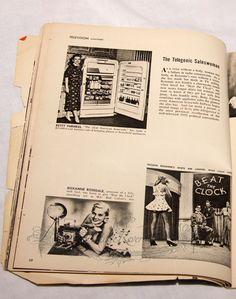 #1950s #television #commercials #history #tvhistory #pinups