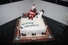 Scottish Christmas fruit cake