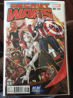 Secret Wars #1, Brooks Variant