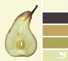 Color Sliced Pear