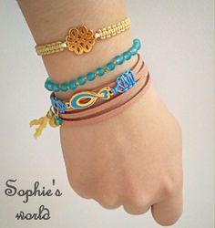 Sophie's World, Handmade Jewelry, Facebook, Bracelets, Fashion, Bangle Bracelets, Moda, La Mode, Bracelet