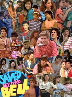 cartoons collage The were the best. Saved by the Bell collage. Movies Showing, Movies And Tv Shows, Zack Morris, 90s Tv Shows, Saved By The Bell, 90s Kids, Music Tv, Thing 1, Retro