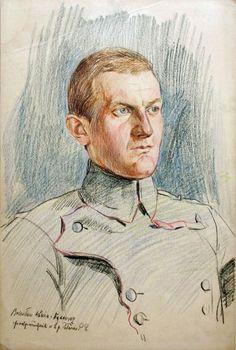 Ppor. Bolesław Dunin-Wąsowicz, dowódca 6.szwadronu 2. p.uL., uczestnik szarży pod Rokitną
