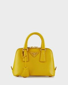 ... best price mini saffiano promenade bag yellow soleil by prada at  bergdorf goodman. 53be7 f7fd5 b7a1870ef6110