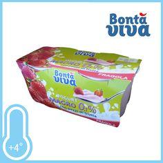 Yogurt magro 0,1% con pezzi di frutta. Gusto Fragola. Conf. 2xgr.125 a solo € 0,49!!!