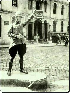 Beyoglu trafik polisi 1930lar