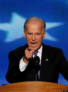 Straight talking from Vice President Joe Biden - 2012 Democratic National Convention (Photo by Alex Wong/Getty Images)