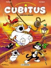 Couverture de l'album LES NOUVELLES AVENTURES DE CUBITUS Tome #4 Tous des héros ! Cuba, Snoopy, Album, Fictional Characters, Art, New Adventures, Comics, Baby Born, Art Background