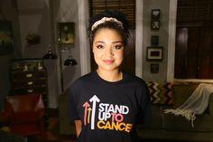 #StandUpToCancer! #ChasingLife | chasing life Beth = Aisha ...