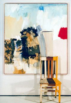 """""""Pilgrim"""" (1960), by Robert Rauschenberg. Oil on canvas, collage on paper and cloth and gloss paint on wood. Neo-dada."""