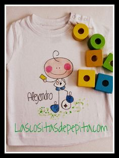 Las cositas de Pepita: Camisetas Originales Pintadas a Mano
