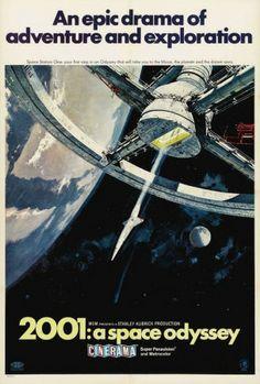 2001: A Space Odyssey Juliste
