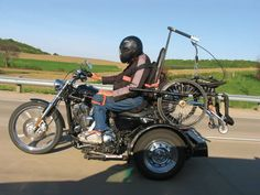 Wheelchair users rocking adaptive motorcycles