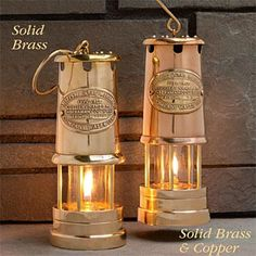 A brass/copper lamp for each room of the barky!