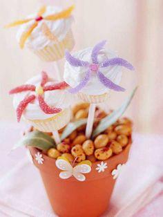 Flower Cupcakes